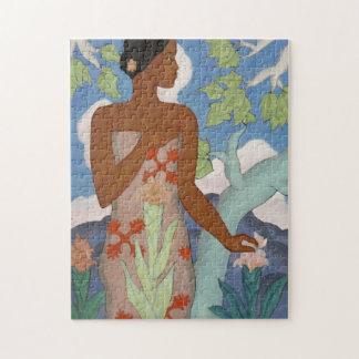 Hawaiian Woman - Arman Manookian Jigsaw Puzzle