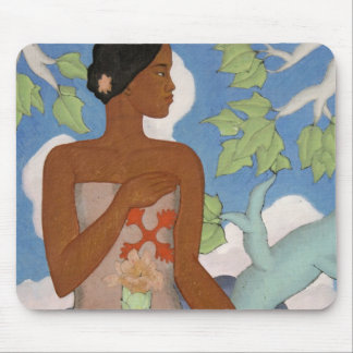 'Hawaiian Woman' - Arman Manookian Mousepad