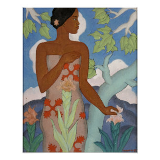 Hawaiian Woman - Arman Manookian Poster