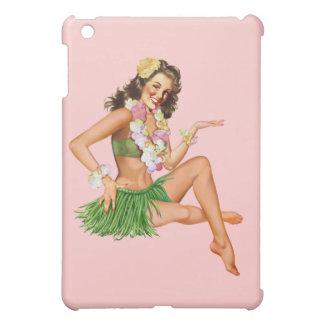 Hawaiin Vintage Pin-up Poster iPad Cover
