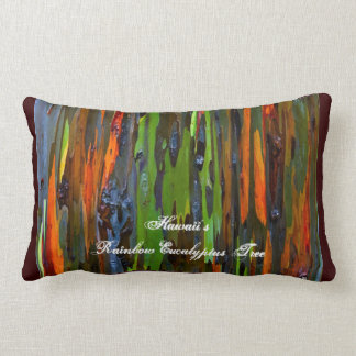Hawaii's Rainbow Eucalyptus Tree Pillow