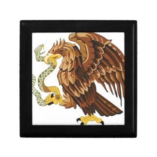 Hawk and snake gift box