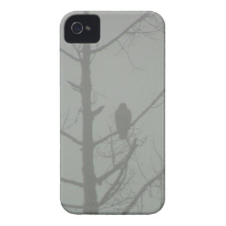 Hawk In The Mist iPhone 4 Cover