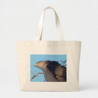 hawk large tote bag