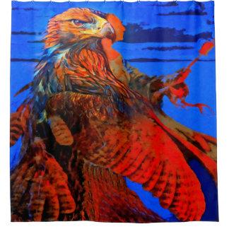 Hawk Medicine Shower Curtain