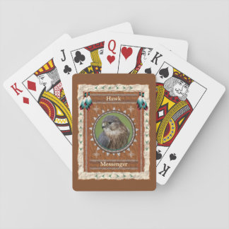 Hawk  -Messenger- Classic Playing Cards