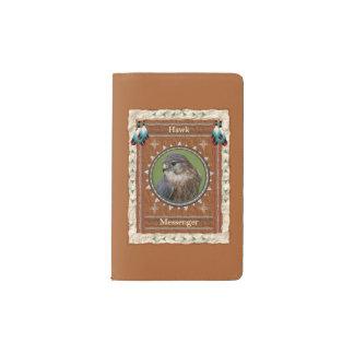 Hawk  -Messenger- Notebook Moleskin Cover