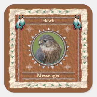 Hawk  -Messenger- Stickers - 20 per sheet