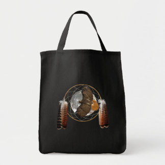 Hawk Moon Tote Bag