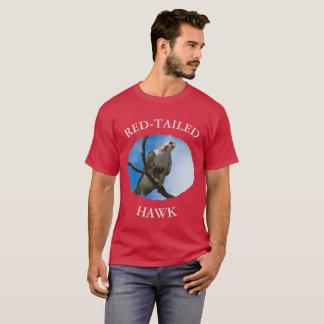 Hawk On The Hunt Men's Basic Dark T-Shirt