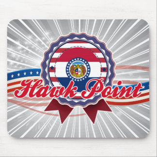 Hawk Point, MO Mousepads