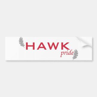 HAWK pride Bumper Sticker Car Bumper Sticker