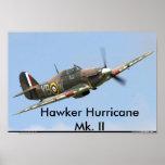 Hawker Hurricane, Hawker Hurricane Mk. II Poster