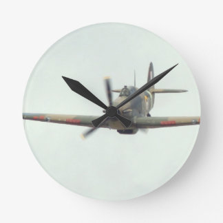 Hawker Hurricane `Last of the many' Round Clock