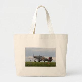 Hawker Hurricane Three Quarter View Large Tote Bag