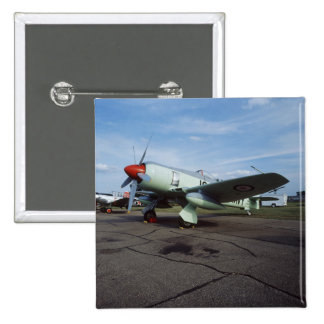 Hawker Sea Fury at CAF, Minnesota Wing, at the 2 15 Cm Square Badge