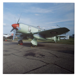 Hawker Sea Fury at CAF, Minnesota Wing, at the 2 Large Square Tile