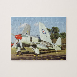 Hawker Sea Fury at CAF, Minnesota Wing, at the Jigsaw Puzzle