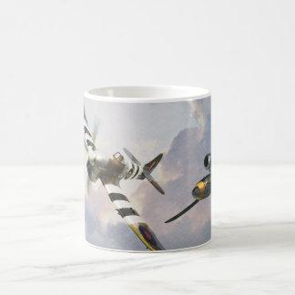""" Hawker Tempest vs. V1 "" mug"