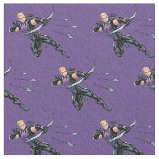 Hawkeye Assemble Fabric