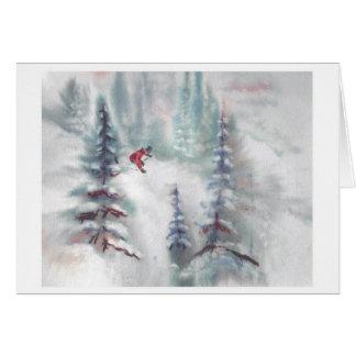 Hawkeye- Gore Mountain Card
