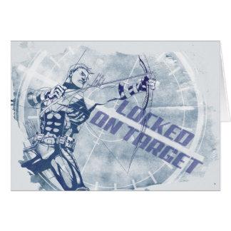 Hawkeye Locked On Target Card