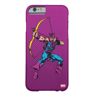 Hawkeye Retro Character Art Barely There iPhone 6 Case