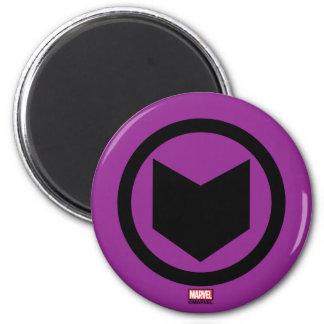 Hawkeye Retro Icon Magnet