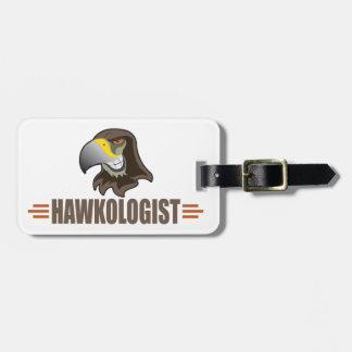 HAWKS - Birds, School Sports Team Mascot Luggage Tag