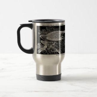 """Hawks in Silhouette "" Travel Mug"