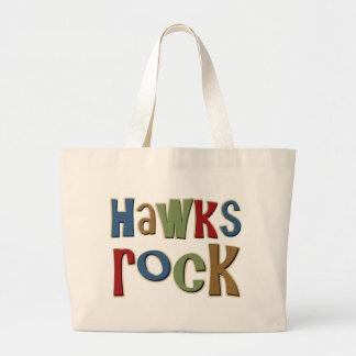 Hawks Rock Tote Bag