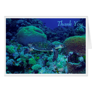 Hawksbill Sea Turtle Greeting Card