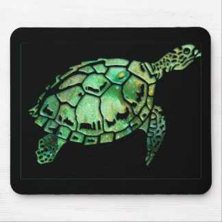 Hawksbill turtle mouse pad