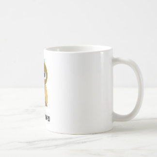 hawkward coffee mug