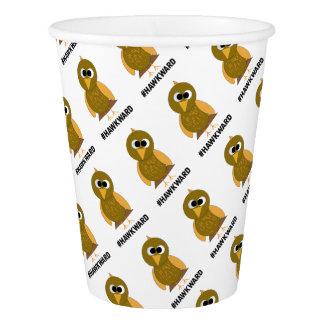 hawkward paper cup