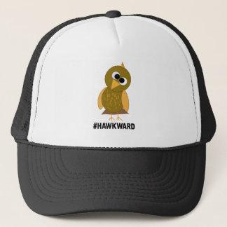 hawkward trucker hat