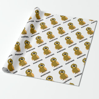 hawkward wrapping paper