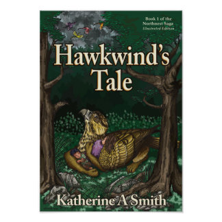 Hawkwind's Tale: Illustrated Version (cover) Poster