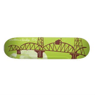 Hawthorne Bridge, PDX Skateboard