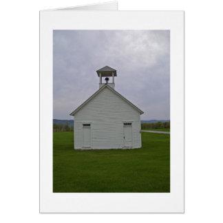 Hawthorne Schoolhouse, Bridgport, VT Card