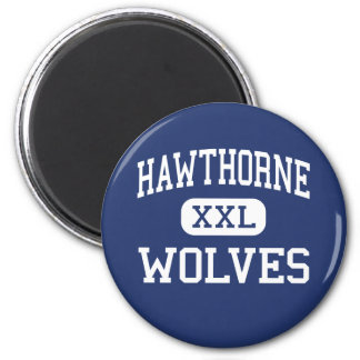 Hawthorne Wolves Traditional Charlotte Fridge Magnets