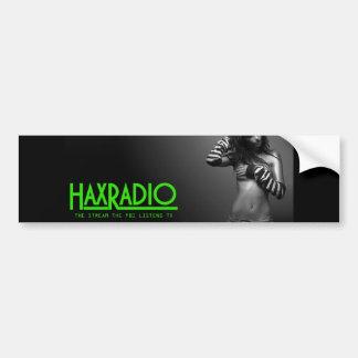 Haxradio bumper sticker