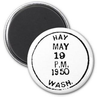 Hay Ghostmark 6 Cm Round Magnet