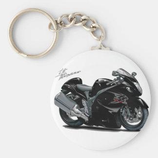 Hayabusa Black Bike Key Ring