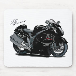 Hayabusa Black Bike Mouse Pad