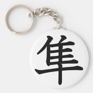 Hayabusa - Falcon Basic Round Button Key Ring