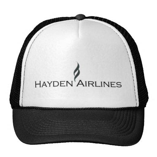 Hayden Airlines Trucker Cap Mesh Hat