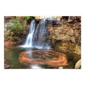 Hayden Run Falls, Columbus, Ohio Photo Art