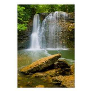 Hayden Run falls, Columbus, Ohio Poster