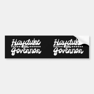 Hayduke for Governor Bumper Sticker